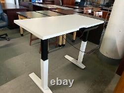 4'W Electric Sit/Stand Height Adjustable Table/Desk by Haworth Office Furniture