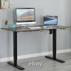 55 Modernchamp Electric Sit Standing Desk Height Adjustable Table Home Office