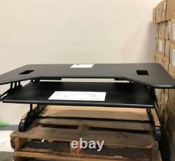 8 VARIDESK Height-Adjustable Standing Desk Cube Plus 40 Sit and Stand