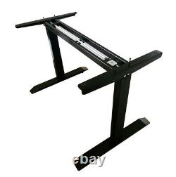 Adjustable Base Height Sit-Stand Standing Desk Frame Lift up Coffee Table Stand