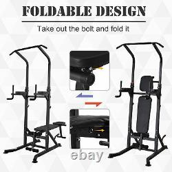 Adjustable&Folded Dip Stands Multi-Function Pull-ups Sit-ups, Fitness tools Gym