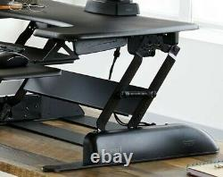 Adjustable Sit to Stand Computer Desk VariDesk Pro Plus Retails $395