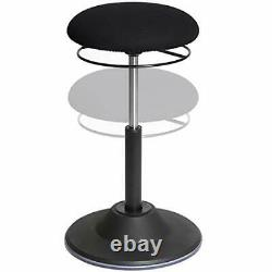 Airlift 360 Adjustable Ergonomic Active Balance Non-Slip Desk Black Sit-Stand