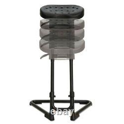 Alera SS Series Sit/Stand Adjustable Stool (Black) SS600 New