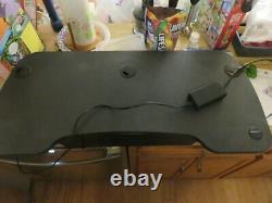Black VersaDesk Power Pro 36 Electric Height-Adjustable Desk Sit Stand Versa