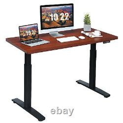 Costway Electric 55x28 Standing Desk Adjustable Sit to Stand with Controller