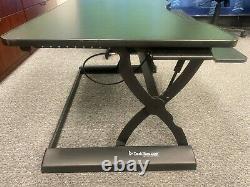 DeskRiser Pro Adjustable Standing Desk StandUp Desk Sit Stand Desk withTray 36.5W