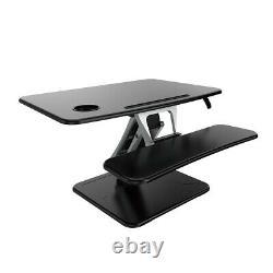 EFurnit Series 131 Standing Desk Riser, Height Adjustable Sit Stand Workstation