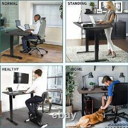 Electric Adjustable Sit Stand Home Office Desk Ergonomic Computer Workstation
