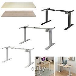 Electric Desk Frame Height Adjustable Motorized Sit Stand Desk Legs