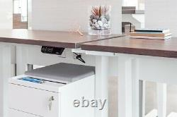 Electric Height Adjustable Sit or Standing Desk Memory Touch Control