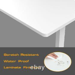Electric Height Adjustable Standing DeskMultiple Color Office Sit Stand Up Desk