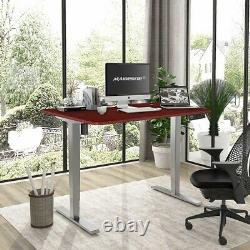 Electric Standing Desk Adjustable Height Sit Stand Office Comupter Table 3 Stage