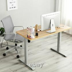 Electric Standing Desk Height Adjustable Sit Stand Table Computer PC Workstation