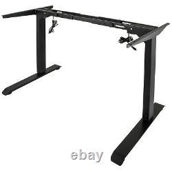 Electric Standing Desk Riser Sit Stand Height Adjustable Motorised Dual Motor