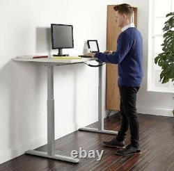 Electronic Sit Stand Desk Frame Motorised, Adjustable Height and Width
