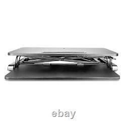 Ergonomic Height Adjustable Standing Desk Tabletop Sit to Stand Workstation