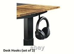 Fezibo Dual Motor Height Adjustable Electric Sit/Standing Desk, 48 X 24 Inches