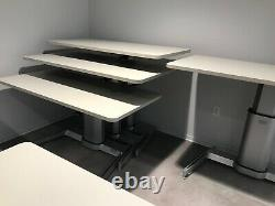 Height Adjustable Non Electric Sit to Stand by Steelcase AirTouch Desk