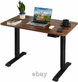 Homall Height Adjustable Electric Standing Desk, 110cm Sit-Stand Desk