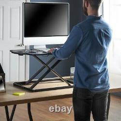 Home Office Adjustable Standing Sitting Computer Laptop Desk Workstation
