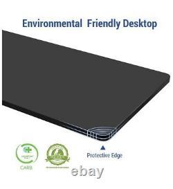 Home Office Electric Sit Stand Desk Height Adjustable Desk, 55 x 28 BLACK