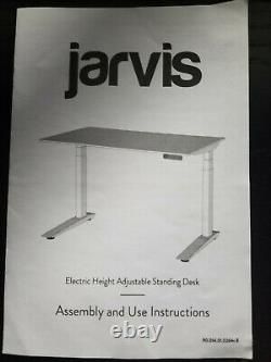 Jarvis Standing Desk Frame Only Electric Adjustable Height Sit Stand Desk USED