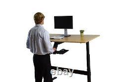 KT2 sit stand keyboard tray adjustable ergonomic computer keyboard stand riser