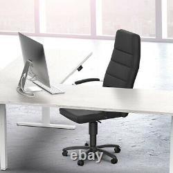 L Shaped Motor Sit Stand Corner PC Computer Desk Frame Height Adjustable White