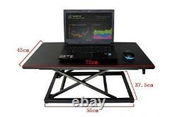Laptop Desk Adjustable Height Sit Stand Desk Simple Modern Office Riser Foldable