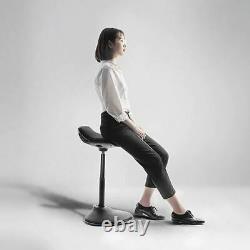 Mount-It! Ergonomic Sit Stand Stool Height Adjustable