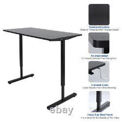 Multifuction Stand Up Table Adjustable Height Sitting Standing Writing PC Desk