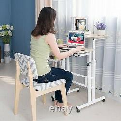 Multipurpose Home Office Computer Desk, Mobile Sit and Stand Desk, Workstation