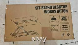 PUTORSEN Standing Desk Height Adjustable Sit Stand Desk Converter Stand Up Desk