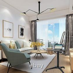 Pneumatic Desk Adjustable Height Laptop Desk, Sit Stand Mobile, Ergonomic Design