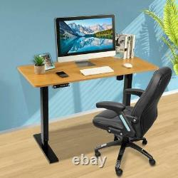 Sit Stand Desk Electric Standing Up Computer Table Height Adjustable Home Office