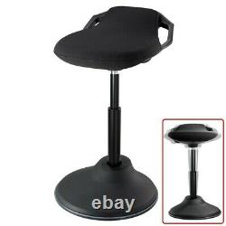 Sit Stand Perch Stool Seat Dynamic Standing Desk Chair Height Adjustable Office