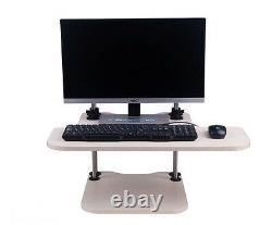 Stand Up Desk Adjustable Desktop Workstation Stand/Sit at your current desk
