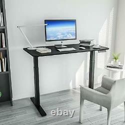 Standing Desk Dual Motor Height Adjustable Electric Sit Stand Up Black Frame