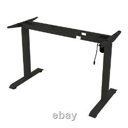 Standing Desk Electric Height Adjustable Sit Stand Table Computer PC Workstation