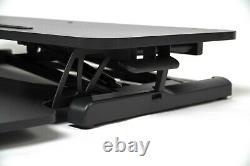 Standing Desk Riser Height Adjustable Sit to Stand Desk Converter Workstation