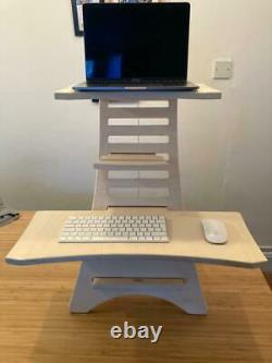 Standing Desk Sit Stand Adjustable Workstation Perfect for Laptops
