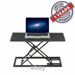 Standing Portable Laptop Sit & table folding mobile Adjustable workbench 26.8