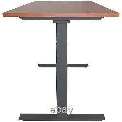 Titan Adjustable Height Electric Motorized Sit To Stand Work Desk 24- 50 A6