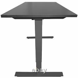 Titan Adjustable Height Electric Motorized Sit To Stand Work Desk 27 to 46 A2