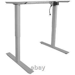 Titan Single Motor Electric Adjustable Base Height Sit-Stand Standing Desk Frame
