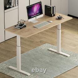 USA Electric Desk Frame Height Adjustable Motorized Sit Stand Desk Legs NEW U8