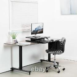 VIVO Height Adjustable Standing Desk Gas Spring Riser 25 Tabletop Sit Stand