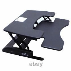 VariDesk Height-Adjustable 36 ProPlus Standing Desk Converter Sit to Stand Up