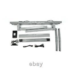 Vwindesk VF Electric Duble Motors Height Adjustable Sit Stand Folding Desk Frame